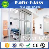 Wireless remote control tempered laminated opaque toughened glass for office partition wall