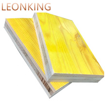waterproof 3-ply 21MM 27MM yellow spruce pine fir shuttering concrete formwork panel / formwork boards for construction