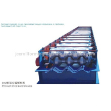 Dust Suppression & Wind Proof Mesh rolling machine