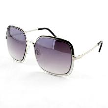 Gafas de sol de las gafas de sol de las mujeres con la lente de la promoción del gradiente (14275)