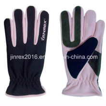 Fleece, Winter Warm Fashion Polar Fleece Outdoor Glove-Jz9b13