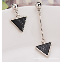 Urquoise Earrings Asymmetric Triangular Tassel Earring