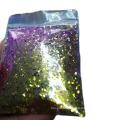 Paillettes de paillettes de caméléon de poudre de scintillement de changement de couleur cosmétique