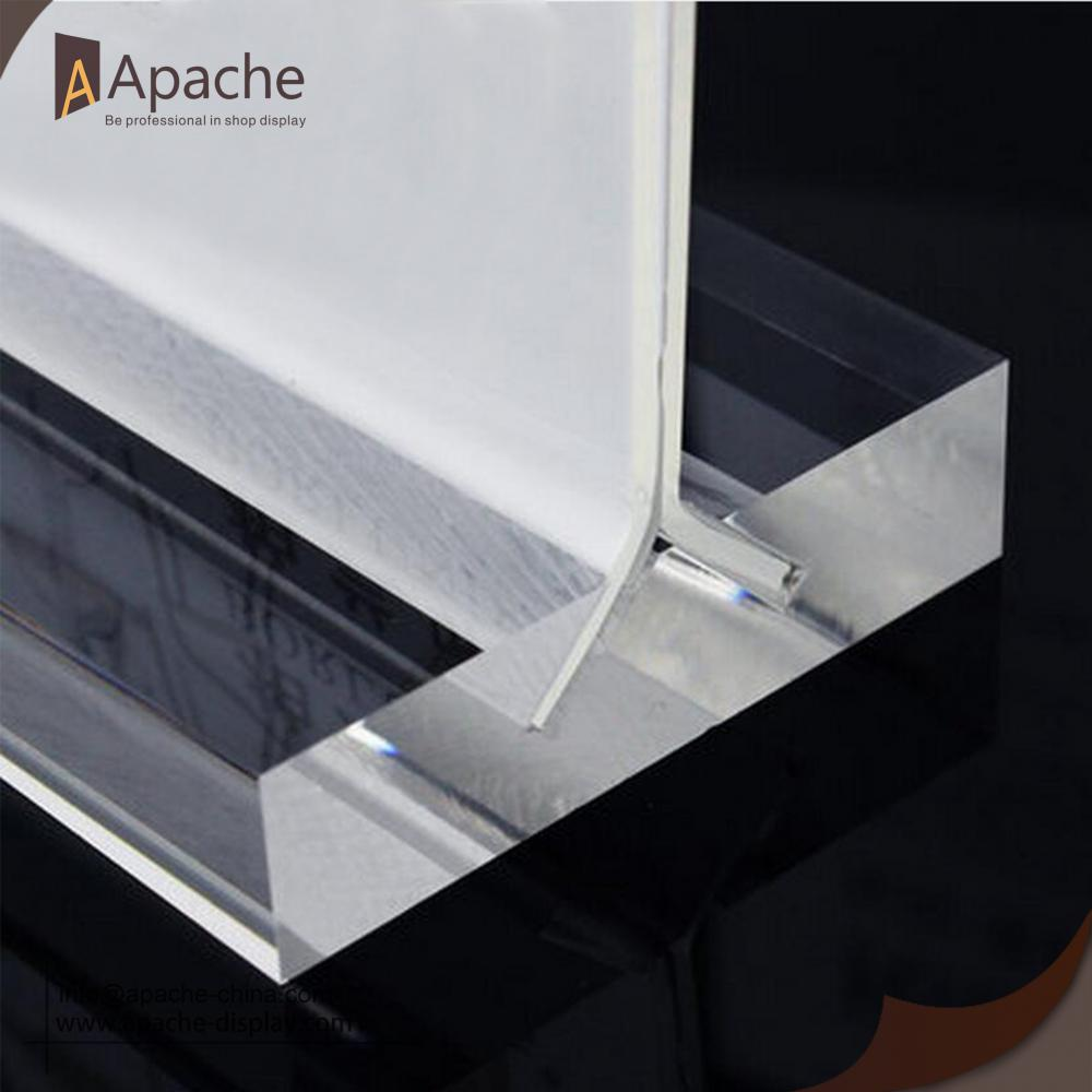 Acrylic Ads Display Table Card/ Menu Holder