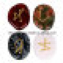 Semi Precious Stone Gemstone Carving Sign Figure Slices