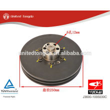 Polia do virabrequim do motor YUCHAI YC6J J3600-1005030C