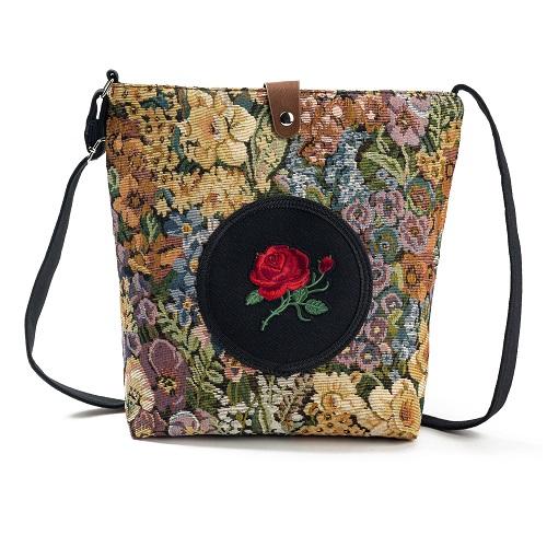 Messenger Bag Embroidery