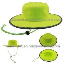 100% полиэстер Microfiber Открытый Досуг Рыбак ведро Hat (TMBH0705)