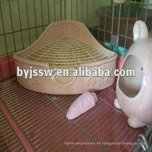 jaula para ratas mascota de acero inoxidable