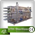 5000L/Hr Beverage Tubular Sterilizer Made of SUS304