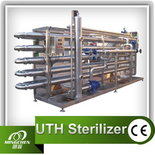 5000L/Hr Beverage Tubular Sterilizer Made of SUS304