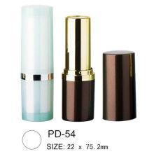 Empty Round Plastic Lipstick Packaging