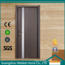 Puerta compuesta plástica de madera interior de alta calidad de la puerta de WPC