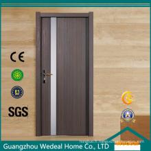 Porte composite en bois de porte intérieure en bois de haute qualité de WPC