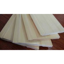 Placa de piso de madeira de cedro impermeável