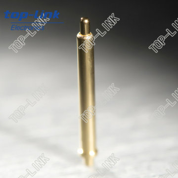 Probe Test Pin (pogo pin, spring loaded connector, brass, surface mount)