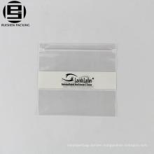 Printed pe vinyl zipper ziplock bags for publicity