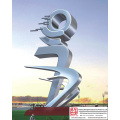 Outdoor Modern Stainless Steel Sculpture