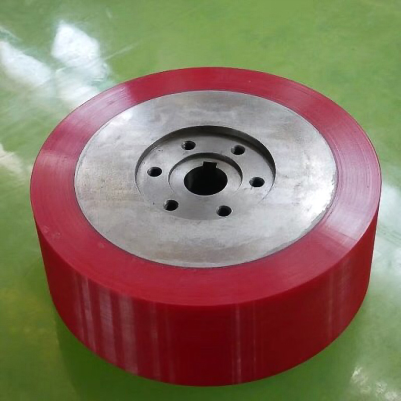 Custom Strong Bonding Polyurethane Urethane Pu Coating Wheels