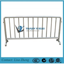 Hot DIP Galvanized Temporary Event Barricade