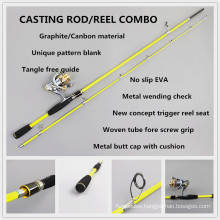 SPR090 fishing tackle carbon composite spinning fishing rod