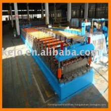 Máquina formadora de hojas de techo IBR