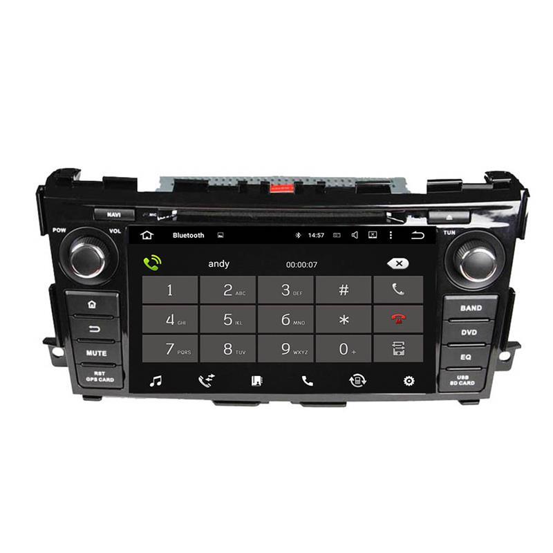 Nissan Tenna android auto radio
