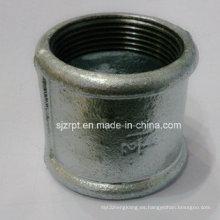 """Acoplamiento galvanizado de 1-1 / 2 """"Acoplamiento de tubo maleable de hierro"""