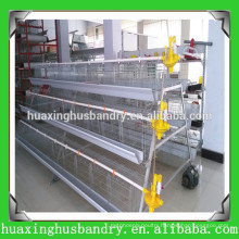 Chicken Cage/Galvanized Chicken Layer Cage/Poultry Cage(Zhumadian manufacturer)