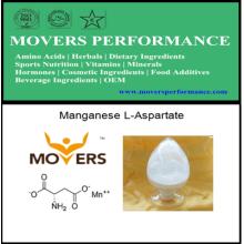 L-aspartate de manganèse de qualité alimentaire de haute qualité