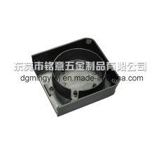 Aleación de aluminio de precisión de fundición de la cubierta exterior con mecanizado CNC Made in China