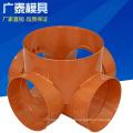 Peças plásticas moldadas por injeção de abs baratos de alta qualidade