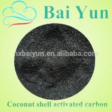 Filtre à poudre de charbon actif de coquille de noix de coco pour le désodorisant