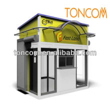 outdoor food outdoor kiosk