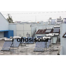 Integrated hot water solarizer solar heater systems pv solar panels