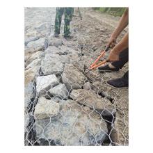 galvanized welded gabion box wire mesh retaining wall river bank gabion basket stone cage landscape