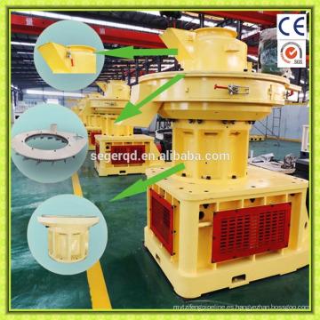 Máquina de fabricación de pellets de madera aserrada de biomasa
