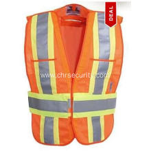 Orange Class 2 High Visibility Safety Vest
