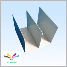 Trousse de bibliothèque de table en métal en forme de rangement pour organiseur