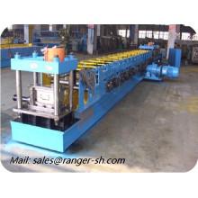 Porta de aço metal frame rolo formando linha de máquina em Xangai