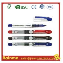 Pluma de tinta líquida vendedora caliente para la fuente de los efectos de escritorio
