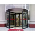 Three-wing Revolving Doors with Thermal Insulation Function