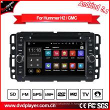 DVD de voiture Android 7 pouces pour Hummer H2 Navigation GPS automatique