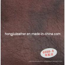 China Sipi Leather Application in Sofa/Chair (Hongjiu-608#)