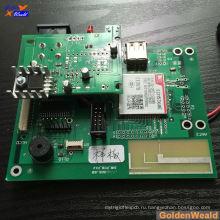Изготовление агрегата PCB шэньчжэня с небольшой BGA в Совет Красной маской припоя для EMS услугу по монтажу печатных плат выпрямитель волос