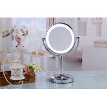 Espele de luz de vaidade com espelho retrovisor com espelho LED