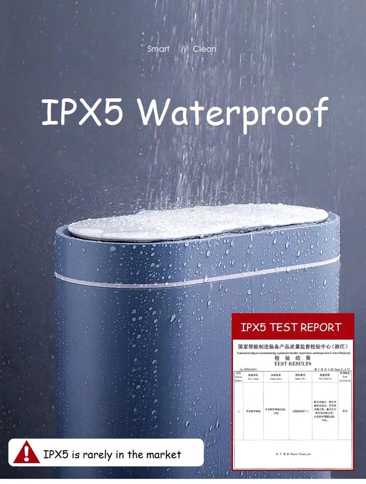 IPX5 Cute Waterproof Wastebin