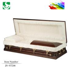 JS-ST246 wholesale best price colors of metal casket