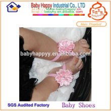Hongkong summer soild color baby wear 1 dollar shoes