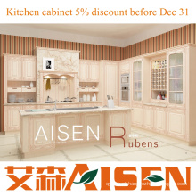 Armário moderno de cozinha customizada em PVC Rubens 2015 com bom preço